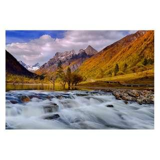 🚚 Photo prints for Fengshui of water, mountains,fire