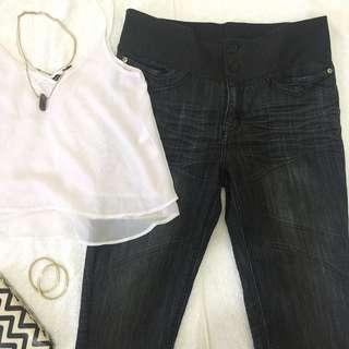HW Garterized Pants