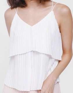 Love Bonito Layered Pleated Camisole
