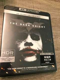 蝙蝠俠黑夜之神 4k The Dark Knight blu ray