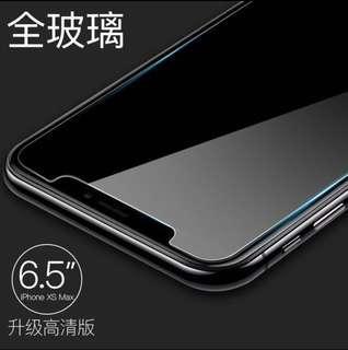 iPhone XS max 高淸玻璃貼 (2片裝)