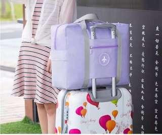 Pastel Purple Travel Cabin Bag Luggage Hand Carry Duffel
