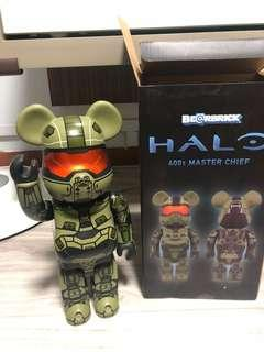 Bearbrick 400% Halo Master Chief