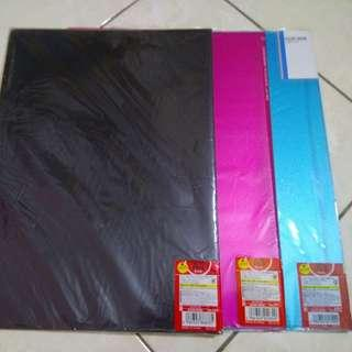 A3 Clear Holder Clear Folder Pocket File