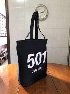 Levi's 501 Original Tote Black Bag
