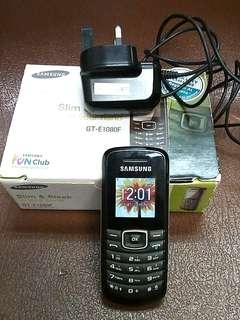 Samsung GT-E1080F  fully functional used handphone