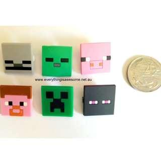 New 12 pcs Minecraft Pins Badges $7.50 (Free Postage Australia wide)