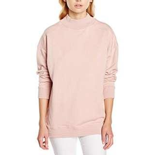 New Look Pink Tilly Turtle Neck Jumper Sweatshirt