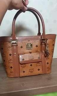 Preloved authentic mcm tote