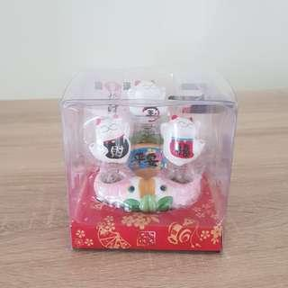 CLEARANCE! 金石工坊 spring lucky cat