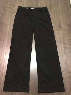 Aritzia Wilfred dark grey winter Pants sz 4