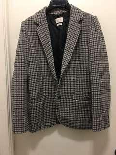 Aritzia-Wilfred wool jacket sz 2 grey tweed
