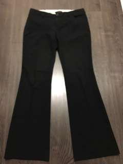 Aritzia Talula stripe dress pants sz 4 in black