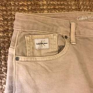Calving Klein jeans