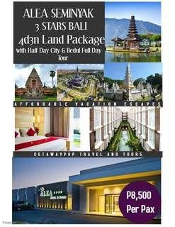 4d3n All in Bali Land Package with tours