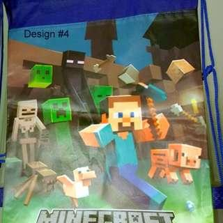 New Minecraft Library Bag Design  – $6 (Free Postage Australia wide)