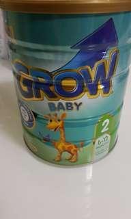 Grow Toddler Milk Powder Stage 2 900gm