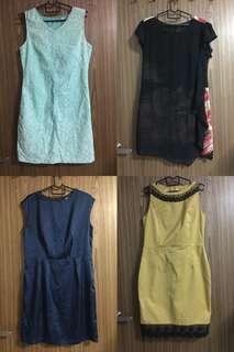 Various work dresses bundle