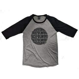 Graphic 3/4 Sleeves Shirt