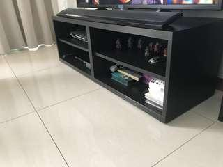 IKEA tv unit( 120cm length, 40cms height)
