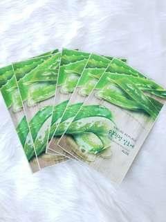 5+ 1 Nature republic face mask