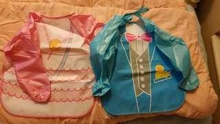 嬰幼兒 飯衣 有摺痕 ($10@)