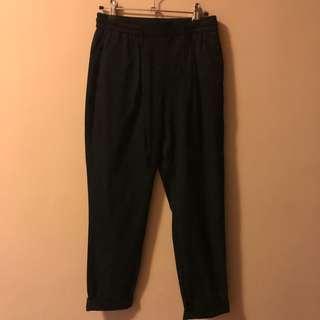 Zara black pants size xs very nice when worn