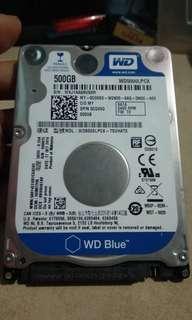 Hardisk WD 500gb