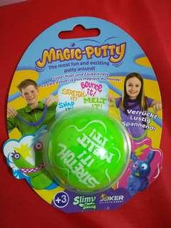 Magic-Putty (slime clay texture)