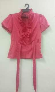 Red Blouse #3x100