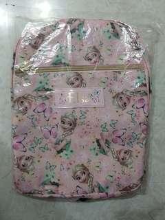 粉紅色 Elsa 小童背囊 (9吋 x 11吋)