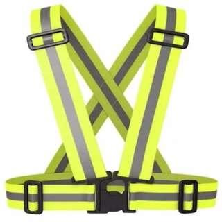Safety Reflective Strip Band Stretchable Visible Glow