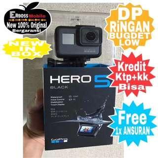 Gopro Hero 5 Action Cam New Resmi Cash/Kredit Tanpa CC DP JApri Wa;081905288895