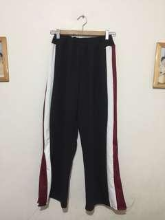 ZIA/MAINE TRACK PANTS WITH SIDE SLIT