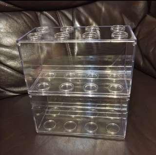 全新透明Display盒1set2個 (已停產)