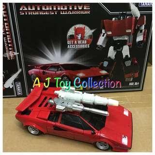 [ In Stock ] Transformers Tanaka Masterpiece  MPF-12 Lambor KO