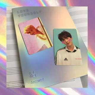 [WTT] BTS OFFICIAL LOVE YOURSELF ANSWER PC / PHOTOCARDS