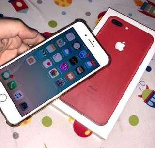COMPLETE iPhone 7+ Red 128gb Openline