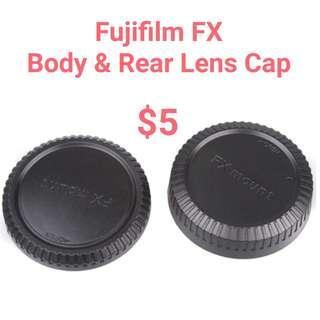 Fujifilm FX Body & Rear Lens Cap