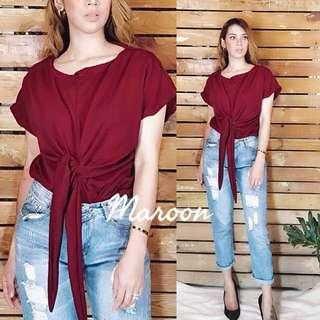 Casual tied tops