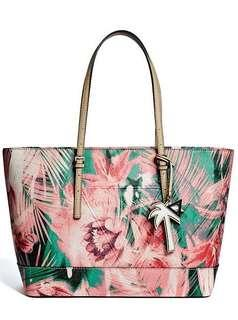 Authentic Guess tote tropical peak