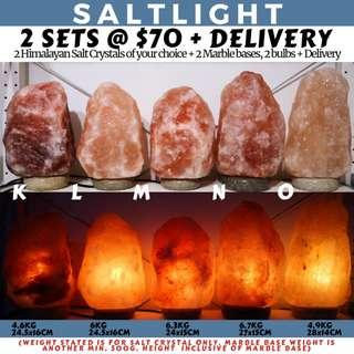 🚚 Authentic Himalayan Salt Lamps | Imported from Pakistan