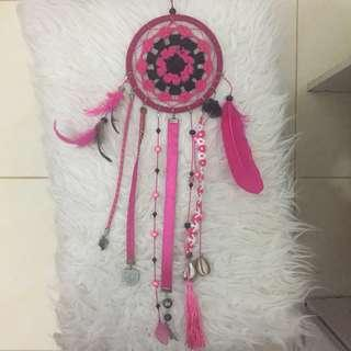 Dreamcatcher 2pcs (hit&pink)