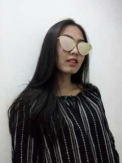Kacamata pinkgold