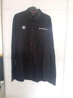 100% new &  real BMW mens shirt 全新正貨BMW男裝長袖恤衫