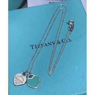 原價$1200 Return to tiffany Blue Heart Necklace