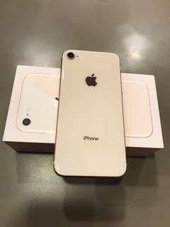 Iphone 8 64gb rosegold Factory Unlocked