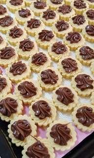🍫 Homemade Yummy Nutella and Oreo Chunky Tarts