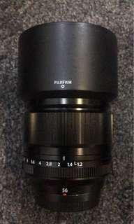 Fujifilm 56mm f/1.2