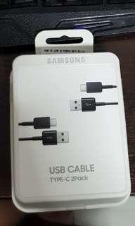 Original Samsung Fast Charger USB type C 2 pack